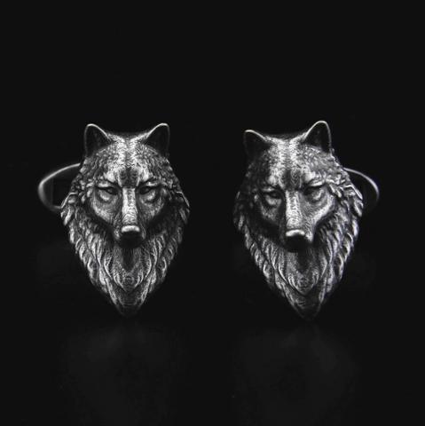 Głowa spinki do wilka - 2