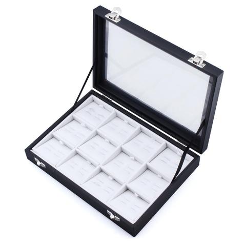 Pudełko spinki do mankietów 12 szt - 3