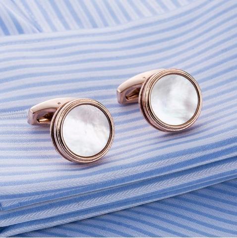 Spinki do mankietów z naturalnej perły - 3
