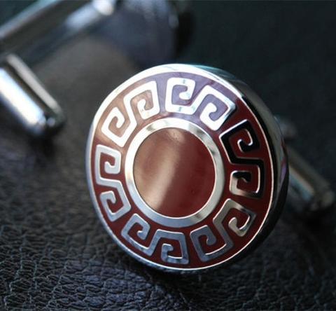 Spinki do mankietów symbole greckie - 3