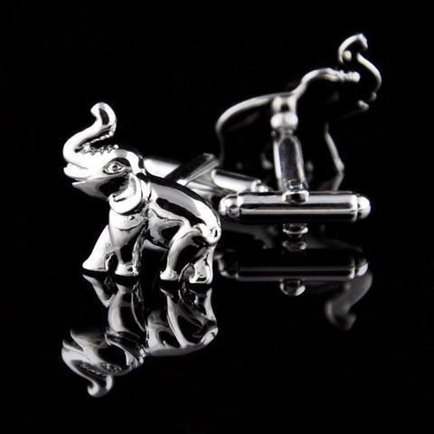 Spinki do mankietów słoń - 3