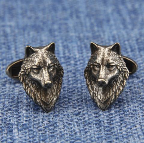 Głowa spinki do wilka - 3