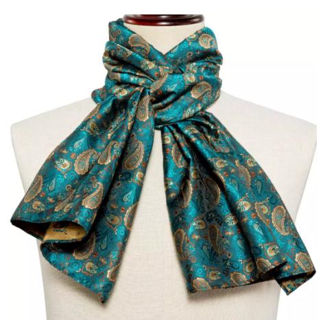 Spinki do mankietów z krawatem i szalikiem - 3