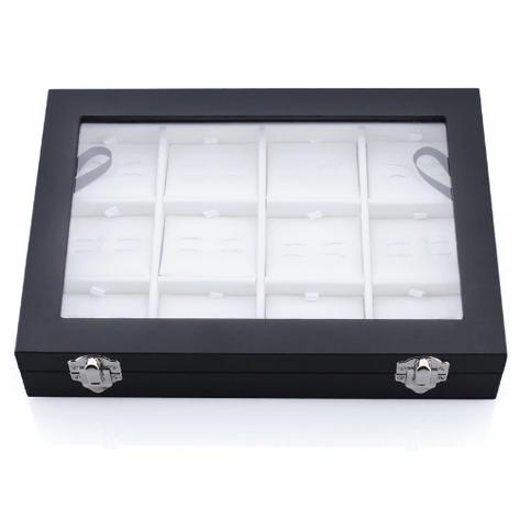 Pudełko spinki do mankietów 12 szt - 4